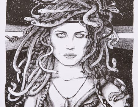 Medusa's Younger Sister | Price: $60.00 – $100.00